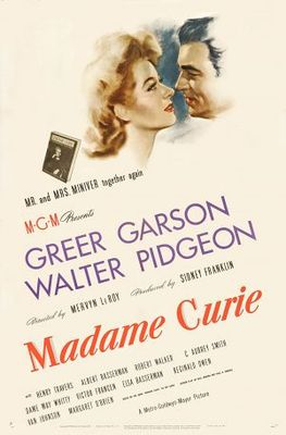 Madame Curie movie poster (1943) poster MOV_c2ee8d83