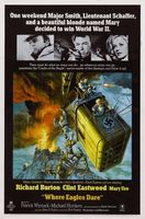 Where Eagles Dare movie poster (1968) picture MOV_c2f804b3