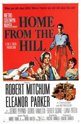 Home from the Hill movie poster (1960) poster MOV_c3005cbd