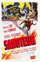 Saboteur movie poster (1942) picture MOV_c305dd38