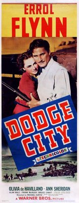 Dodge City movie poster (1939) poster MOV_c30bb7a3