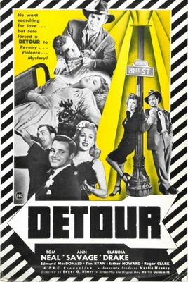 Detour movie poster (1945) poster MOV_c32f9693