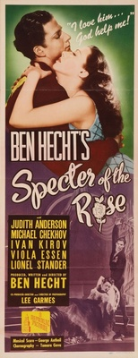 Specter of the Rose movie poster (1946) poster MOV_c33560f5