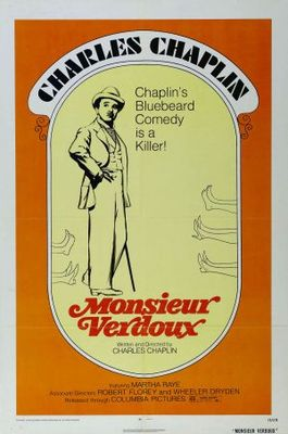 Monsieur Verdoux movie poster (1947) poster MOV_c33badb7