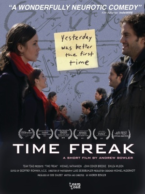 Time Freak movie poster (2011) poster MOV_c3467eae