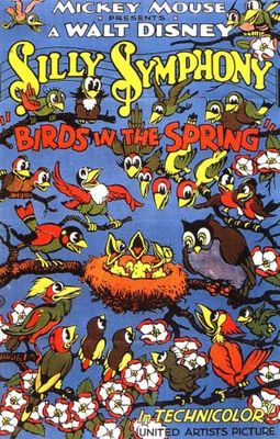 Birds in the Spring movie poster (1933) poster MOV_c3668bf9
