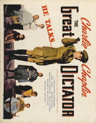 The Great Dictator movie poster (1940) poster MOV_c3893cbc