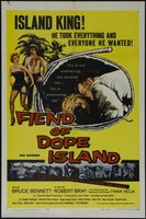 Fiend of Dope Island movie poster (1961) picture MOV_c3a7c546