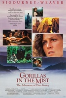 Gorillas in the Mist: The Story of Dian Fossey movie poster (1988) picture MOV_c3aa6824