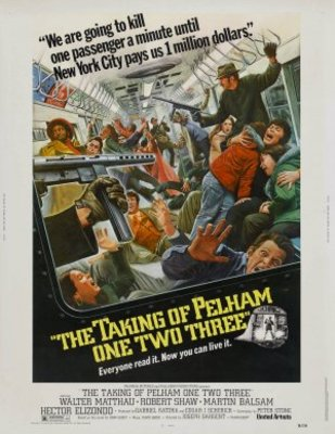 The Taking of Pelham One Two Three movie poster (1974) poster MOV_c3b191ff
