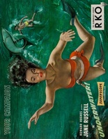 Underwater! movie poster (1955) picture MOV_c3b8ec9b