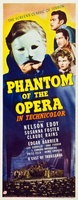 Phantom of the Opera movie poster (1943) picture MOV_c3b94c7b