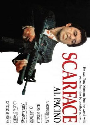 Scarface movie poster (1983) poster MOV_c3bba9e8