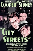 City Streets movie poster (1931) picture MOV_c3cbdd33