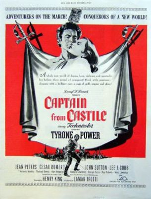 Captain from Castile movie poster (1947) poster MOV_c3d62ef9
