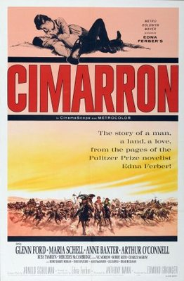 Cimarron movie poster (1960) poster MOV_c3f6c3a7