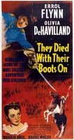 They Died with Their Boots On movie poster (1941) picture MOV_c40db954
