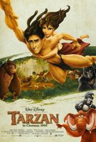 Tarzan movie poster (1999) picture MOV_c414d5b7
