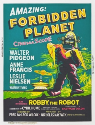 Forbidden Planet movie poster (1956) poster MOV_c431efcd