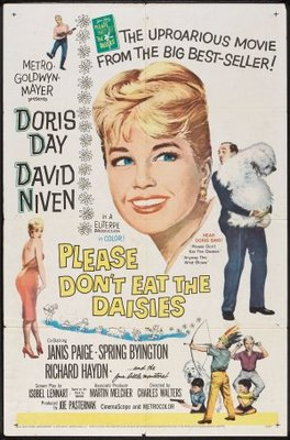 Please Don't Eat the Daisies movie poster (1960) poster MOV_c44168c5