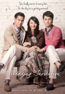 A Wedding Invitation movie poster (2013) poster MOV_c4496e2d