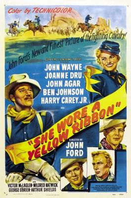 She Wore a Yellow Ribbon movie poster (1949) poster MOV_c44f7452