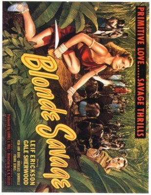 Blonde Savage movie poster (1947) poster MOV_c46b21fc