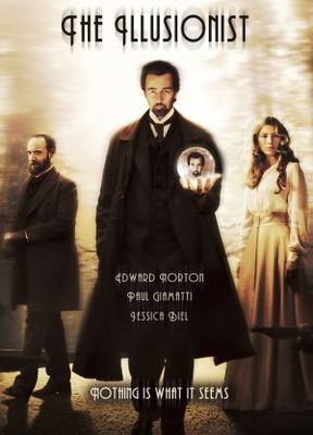 The Illusionist movie poster (2006) poster MOV_c46c9354