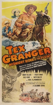Tex Granger, Midnight Rider of the Plains movie poster (1948) poster MOV_c4782498
