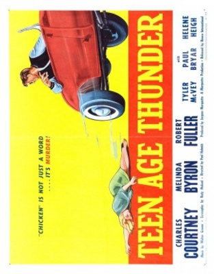 Teenage Thunder movie poster (1957) poster MOV_c482973d