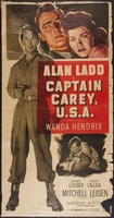 Captain Carey, U.S.A. movie poster (1950) picture MOV_c49a1634