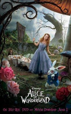 Alice in Wonderland movie poster (2010) poster MOV_c4b0cc0c