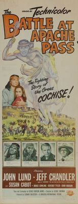 The Battle at Apache Pass movie poster (1952) poster MOV_c4b20e45