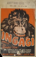 Ingagi movie poster (1931) picture MOV_c4c69068