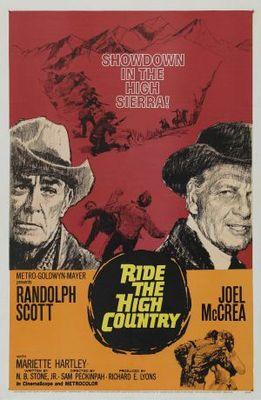 Ride the High Country movie poster (1962) poster MOV_c4cad39d