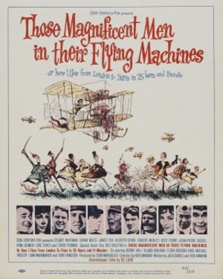 Those Magnificent Men In Their Flying Machines movie poster (1965) poster MOV_c4dbc6a7
