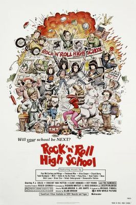 Rock 'n' Roll High School movie poster (1979) poster MOV_c4e90b10
