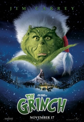 How the Grinch Stole Christmas movie poster (2000) Poster. Buy How ...