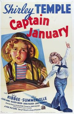 Captain January movie poster (1936) poster MOV_c50df46a