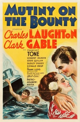 Mutiny on the Bounty movie poster (1935) poster MOV_c528f4b7