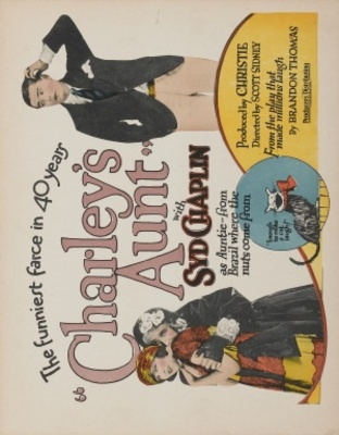 Charley's Aunt movie poster (1925) poster MOV_c5306775