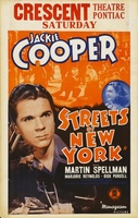 Streets of New York movie poster (1939) picture MOV_c537c417