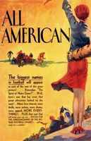The All-American movie poster (1932) picture MOV_c541ae89