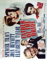 Father of the Bride movie poster (1950) picture MOV_c54457ef