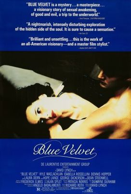 Blue Velvet movie poster (1986) poster MOV_c56d219e