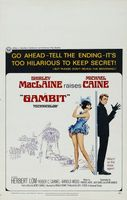 Gambit movie poster (1966) picture MOV_c58a855e