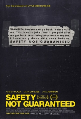 Safety Not Guaranteed movie poster (2012) poster MOV_c59d55a9