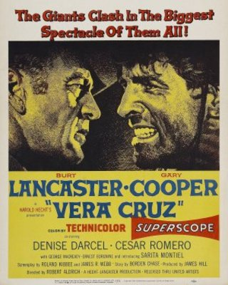 Vera Cruz movie poster (1954) poster MOV_c615d215