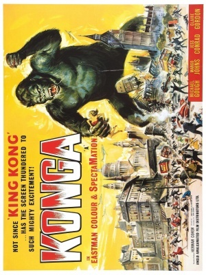 Konga movie poster (1961) poster MOV_c62c7033