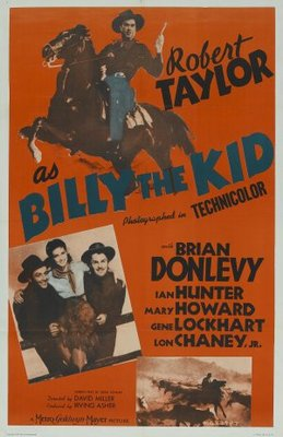 Billy the Kid movie poster (1941) poster MOV_c632468a